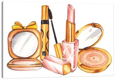 Fancy Make-Up Canvas Art Print