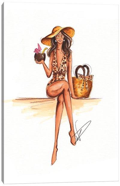 Club Tropicana Canvas Art Print