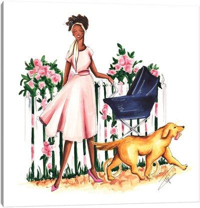Spring Stroll Canvas Art Print