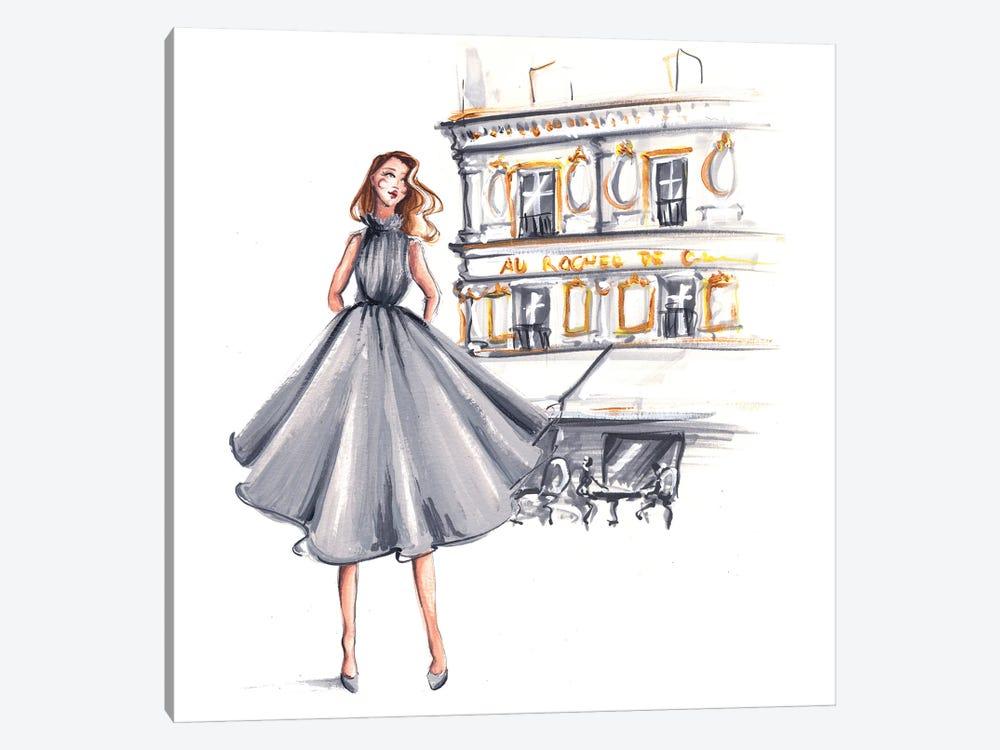 Parisienne Walk by Dorina Nemeskeri 1-piece Art Print