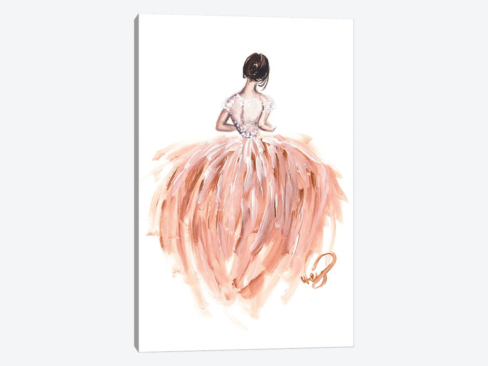 The Bride by Dorina Nemeskeri 1-piece Canvas Wall Art