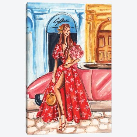 Tropical Trip Canvas Print #DNK67} by Dorina Nemeskeri Canvas Wall Art