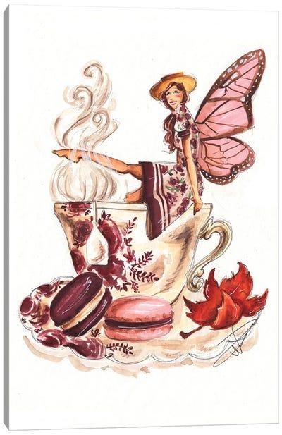 Teacup Fairy Canvas Art Print