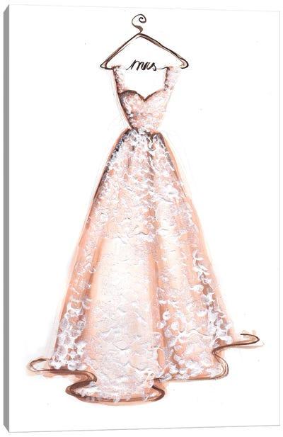 The Wedding Dress Canvas Art Print