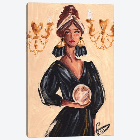The Fortune Teller Canvas Print #DNK76} by Dorina Nemeskeri Art Print