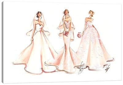 Three Brides Canvas Art Print