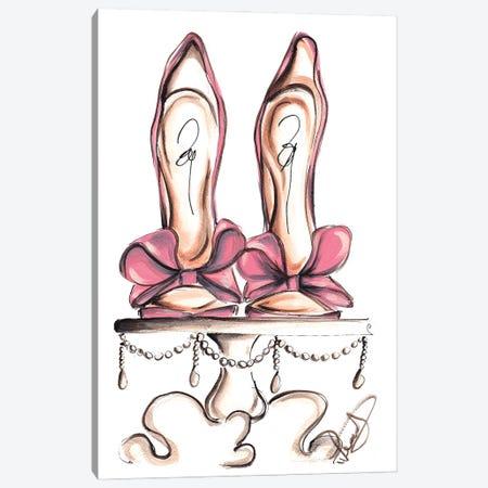 Wedding Heels Canvas Print #DNK8} by Dorina Nemeskeri Canvas Art Print