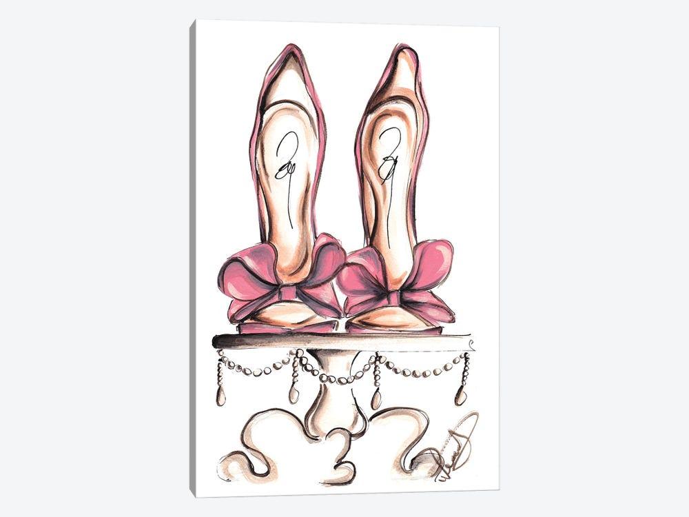 Wedding Heels by Dorina Nemeskeri 1-piece Canvas Print