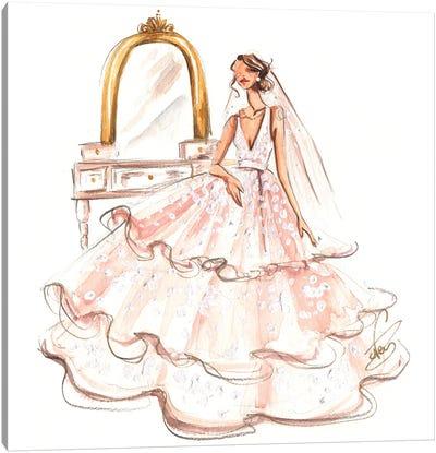 Bride Ready Canvas Art Print