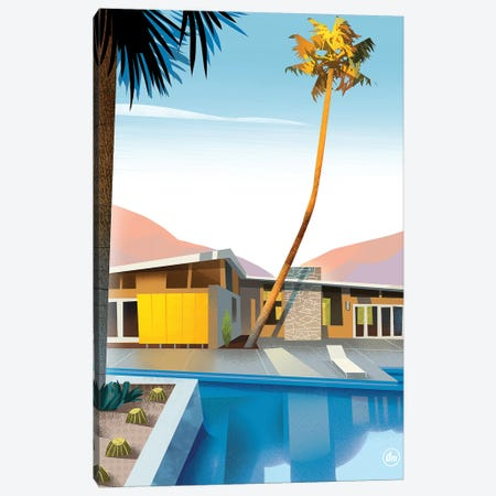Palm Springs Canvas Print #DNM12} by Dean MacAdam Canvas Art