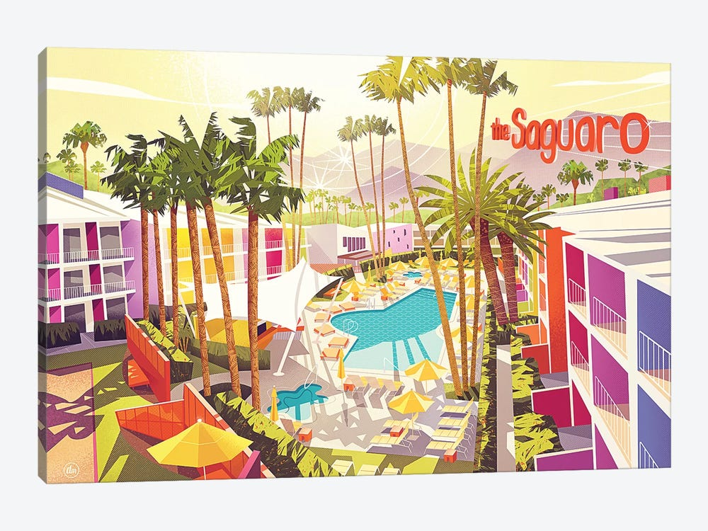 Saguro Palm Springs by Dean MacAdam 1-piece Canvas Art