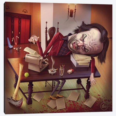 The Shining Canvas Print #DNM17} by Dean MacAdam Art Print