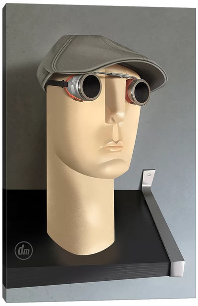 Still Life Mannequin Head Canvas Art Print