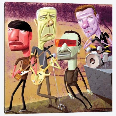 U2 Canvas Print #DNM22} by Dean MacAdam Canvas Print