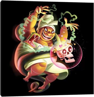 Voodoo Woman Canvas Art Print