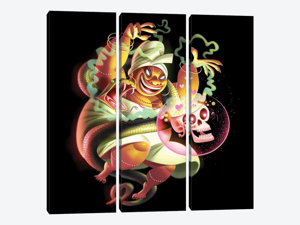 Voodoo Woman by Dean MacAdam 3-piece Canvas Print