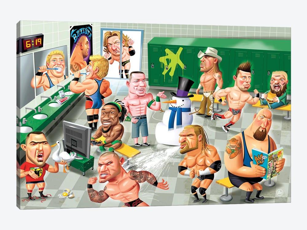 WWE LockerRoom by Dean MacAdam 1-piece Canvas Artwork