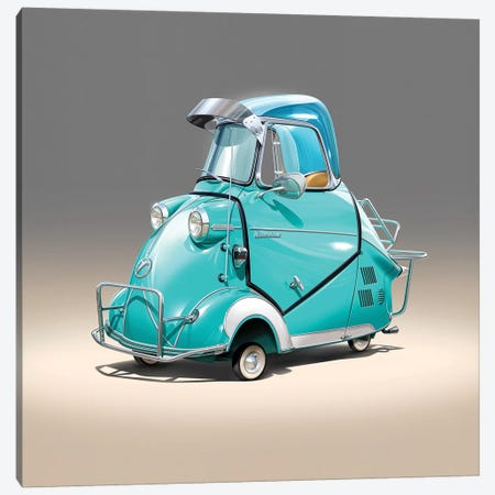 Messerschmitt Canvas Print #DNM28} by Dean MacAdam Canvas Art Print