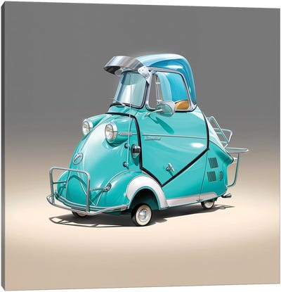 Messerschmitt Canvas Art Print