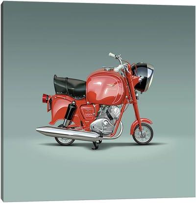 Moto Guzzi Lodola Gran Turismo Canvas Art Print
