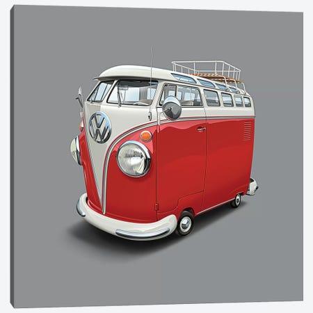 Volkswagen Van Canvas Print #DNM30} by Dean MacAdam Canvas Artwork