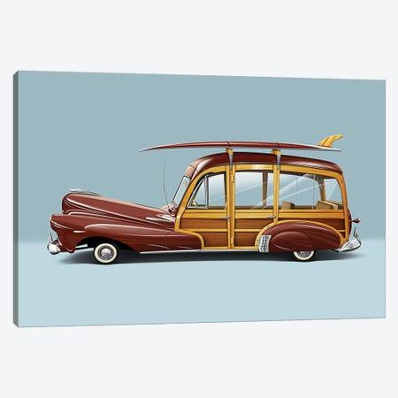 1948 Chevrolet Fleetmaster Canvas Print #DNM31} by Dean MacAdam Canvas Art