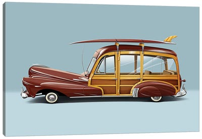 1948 Chevrolet Fleetmaster Canvas Art Print