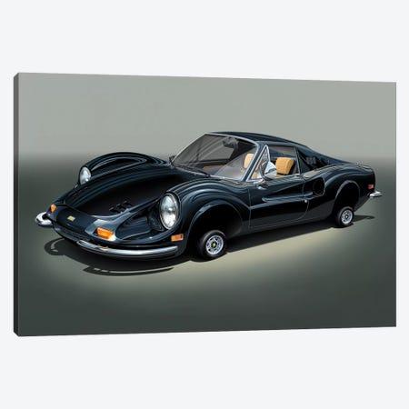 Ferrari Dino Canvas Print #DNM34} by Dean MacAdam Art Print
