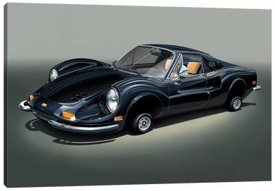Ferrari Dino Canvas Art Print