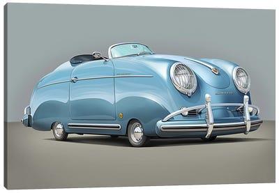 Porsche Speedster Canvas Art Print