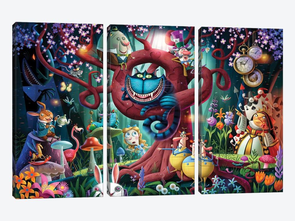 Alice by Dean MacAdam 3-piece Canvas Art