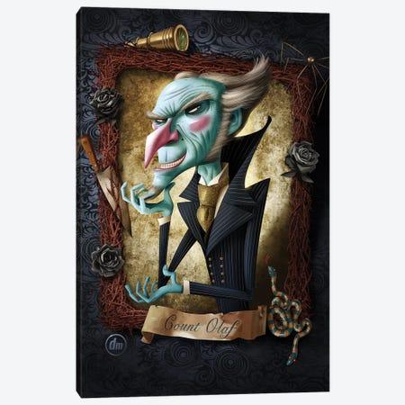 Count Olaf Canvas Print #DNM4} by Dean MacAdam Canvas Artwork