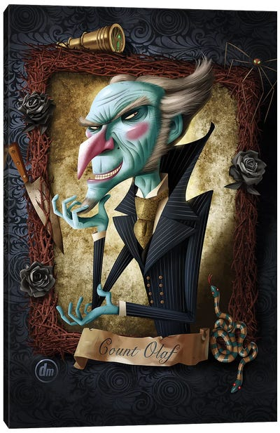 Count Olaf Canvas Art Print