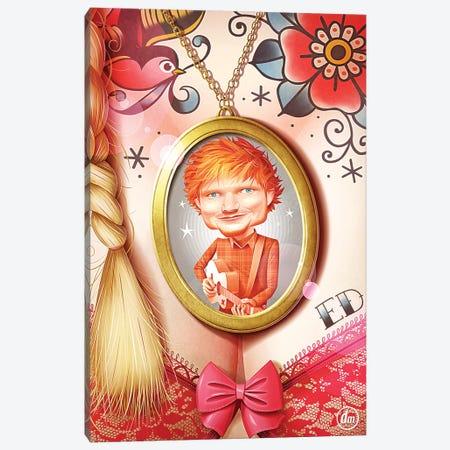 Ed Sheeran Canvas Print #DNM5} by Dean MacAdam Canvas Art