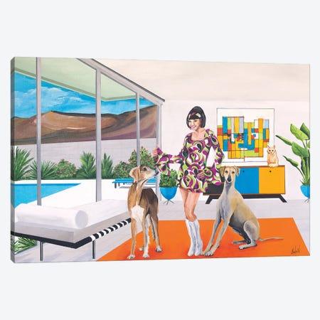 Debbie Does Disco Canvas Print #DNN14} by Dan Nelson Canvas Art