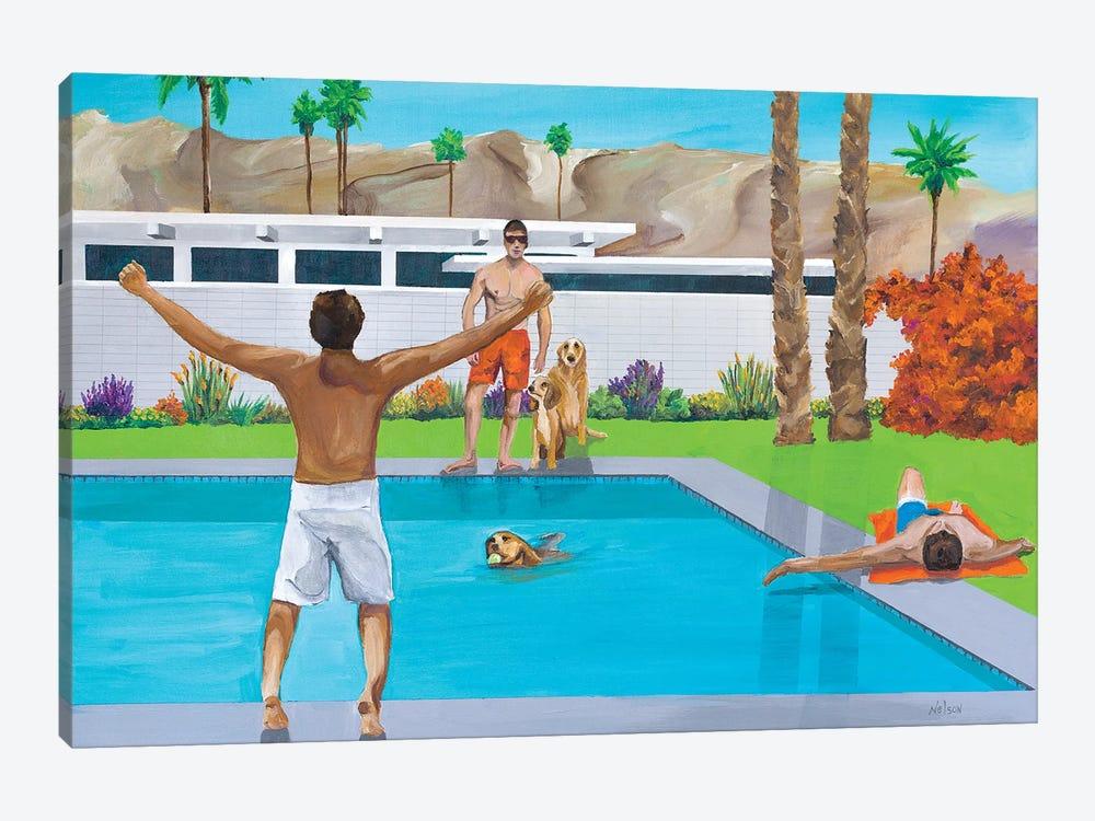 Fetch by Dan Nelson 1-piece Canvas Art