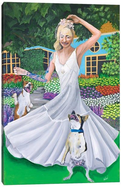 Garden Party Canvas Art Print