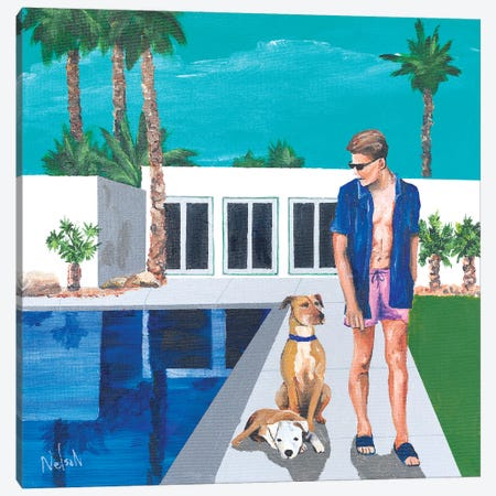 Paul Canvas Print #DNN21} by Dan Nelson Canvas Artwork