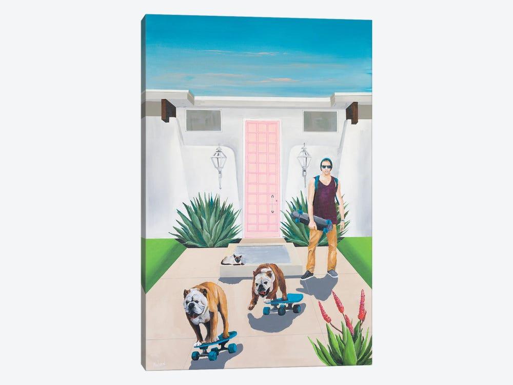 Skate Boys by Dan Nelson 1-piece Canvas Print