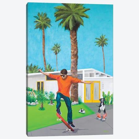 Skate Canvas Print #DNN25} by Dan Nelson Canvas Art Print