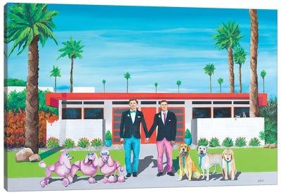 The Wedding Party Canvas Art Print