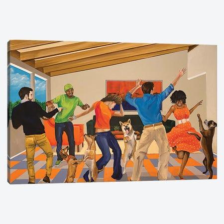 Dance Party Canvas Print #DNN30} by Dan Nelson Art Print