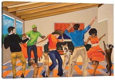 Dance Party Canvas Art Print