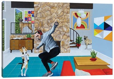 Dance Like No One'S Watching Canvas Art Print