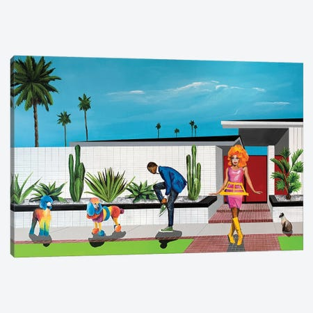 Off To Pride Canvas Print #DNN8} by Dan Nelson Canvas Artwork