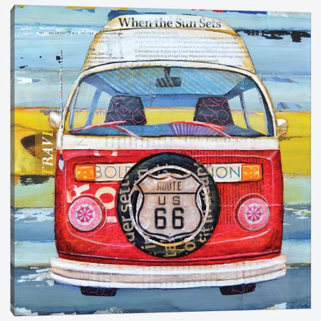 Get Your Kicks Canvas Print #DNP18} by Danny Phillips Canvas Print