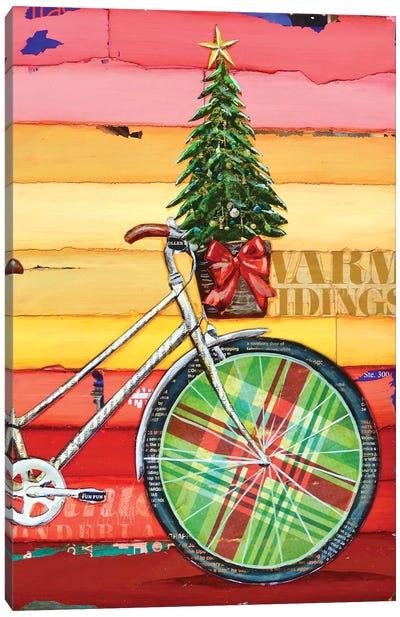 Go Christmas Tree Canvas Art Print