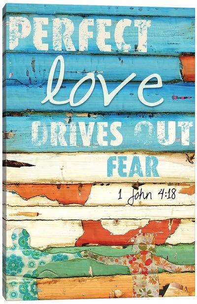 1 John 4:18 Canvas Art Print