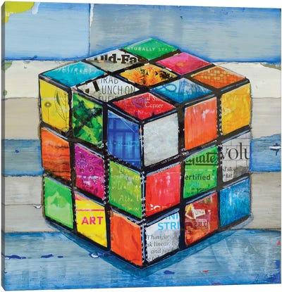 Hip 2 B Square Canvas Art Print