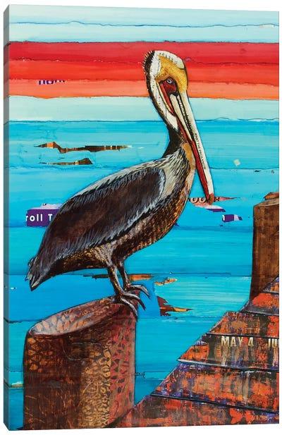 Layover Canvas Art Print